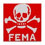FEMA Tile Coaster