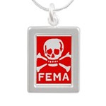 FEMA Silver Portrait Necklace