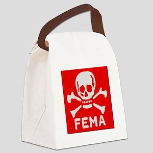 FEMA Canvas Lunch Bag