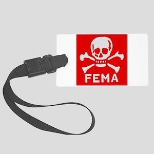 FEMA Large Luggage Tag