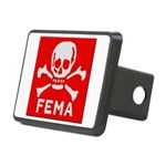 FEMA Rectangular Hitch Cover