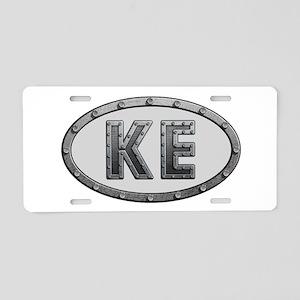 KE Metal Aluminum License Plate