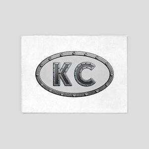 KC Metal 5'x7'Area Rug