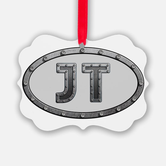 JT Metal Ornament