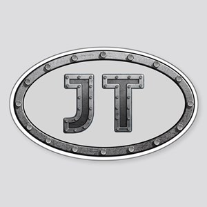 JT Metal Sticker (Oval)