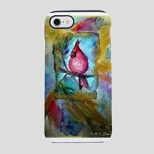 Cardinal, red bird art! iPhone 7 Tough Case