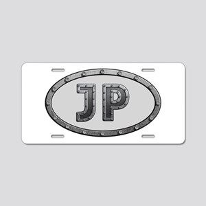 JP Metal Aluminum License Plate