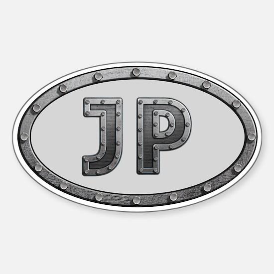 JP Metal Sticker (Oval)