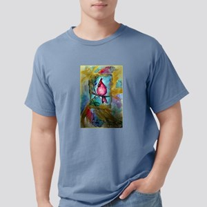 Cardinal, red bird art! Mens Comfort Colors Shirt