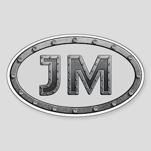 JM Metal Sticker (Oval)