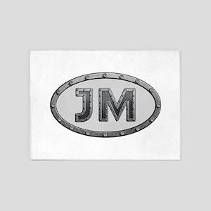 JM Metal 5'x7'Area Rug