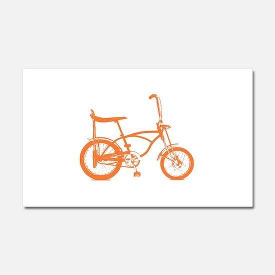 Retro Orange Banana Seat Bike Car Magnet 20 x 12