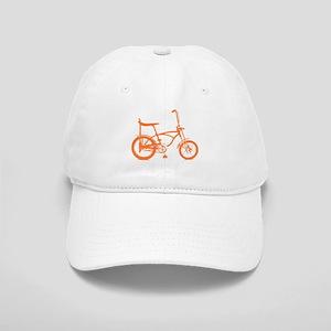 Retro Orange Banana Seat Bike Cap