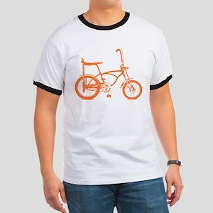 Retro Orange Banana Seat Bike Ringer T