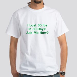Lose With ASAP White T-Shirt