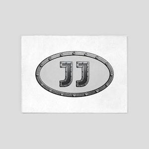 JJ Metal 5'x7'Area Rug