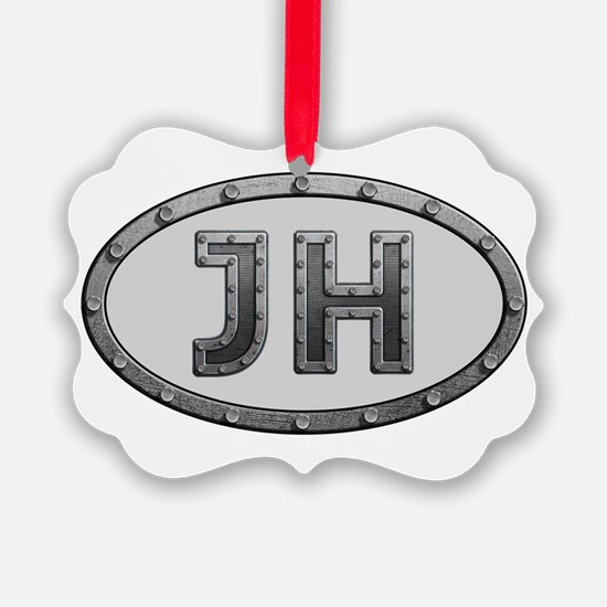 JH Metal Ornament