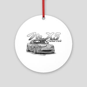 MX5 Racing Ornament (Round)