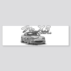 MX5 Racing Sticker (Bumper)