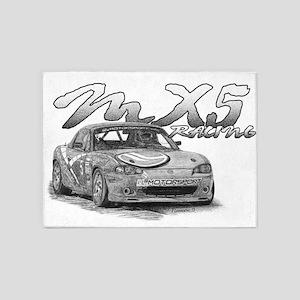 MX5 Racing 5'x7'Area Rug