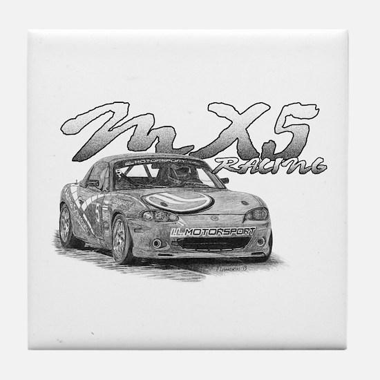 MX5 Racing Tile Coaster
