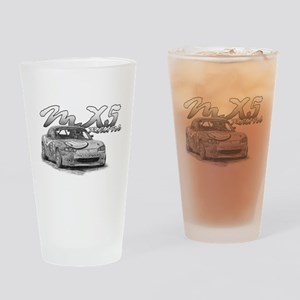 MX5 Racing Drinking Glass