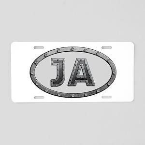 JA Metal Aluminum License Plate