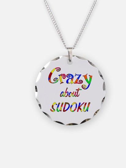 Crazy About Sudoku Necklace