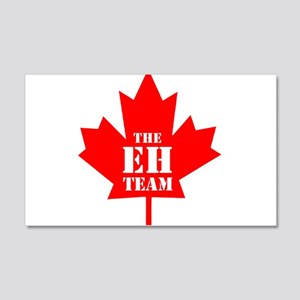 The Eh Team 20x12 Wall Decal