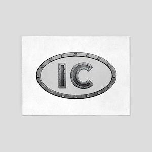 IC Metal 5'x7'Area Rug