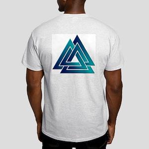 Blended Color Valknut Grey T-Shirt