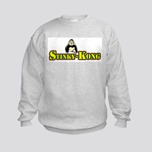 Stinky-Kong Kids Sweatshirt