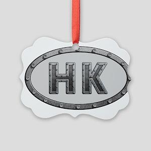 HK Metal Picture Ornament