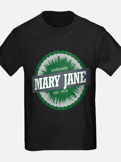 Mary Jane Ski Resort Colorado Green T