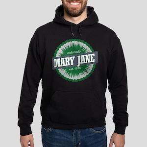 Mary Jane Ski Resort Colorado Green Hoodie (dark)