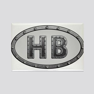 HB Metal Rectangle Magnet