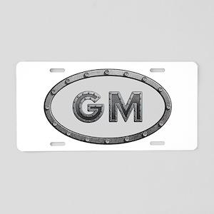 GM Metal Aluminum License Plate