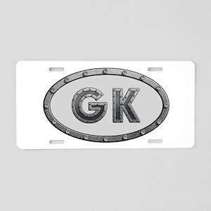 GK Metal Aluminum License Plate