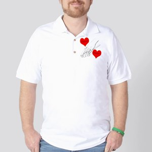 Custom Romance Golf Shirt