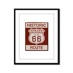 Rialto Route 66 Framed Panel Print