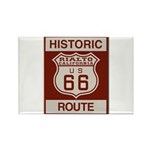 Rialto Route 66 Rectangle Magnet (100 pack)