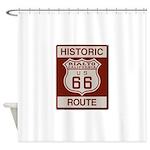 Rialto Route 66 Shower Curtain