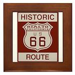 Rialto Route 66 Framed Tile