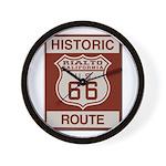 Rialto Route 66 Wall Clock