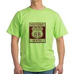 Rialto Route 66 Green T-Shirt