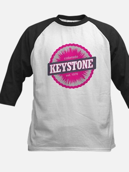 Keystone Ski Resort Colorado Pink Kids Baseball Je