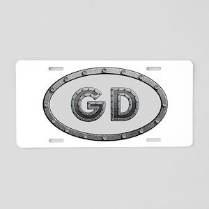 GD Metal Aluminum License Plate