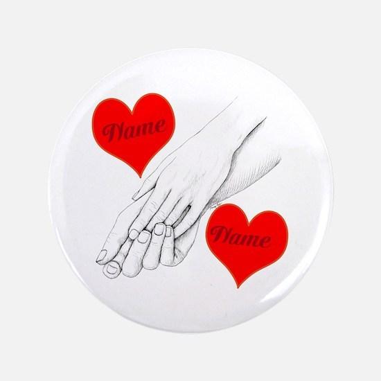 """Custom Romance 3.5"""" Button"""