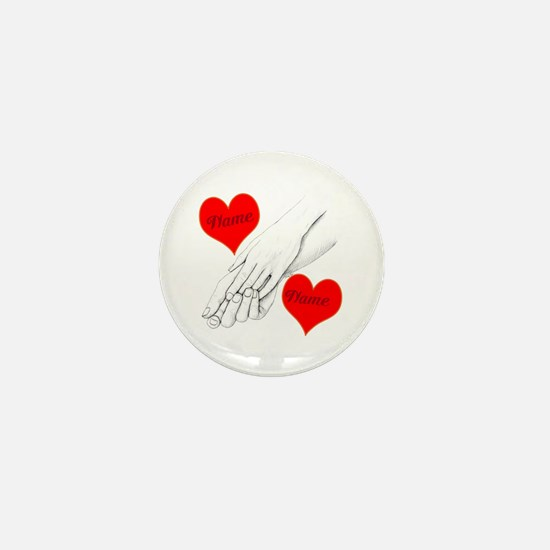 Custom Romance Mini Button