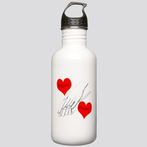 Custom Romance Stainless Water Bottle 1.0L